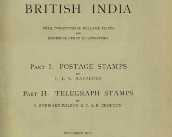 The Postage and Telegraph Stamps of British India